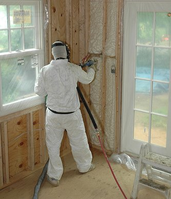 spray_foam_insulation_next_to_door